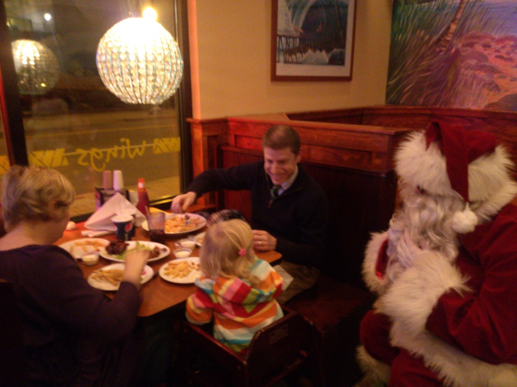 Christmas Dinner with Santa
