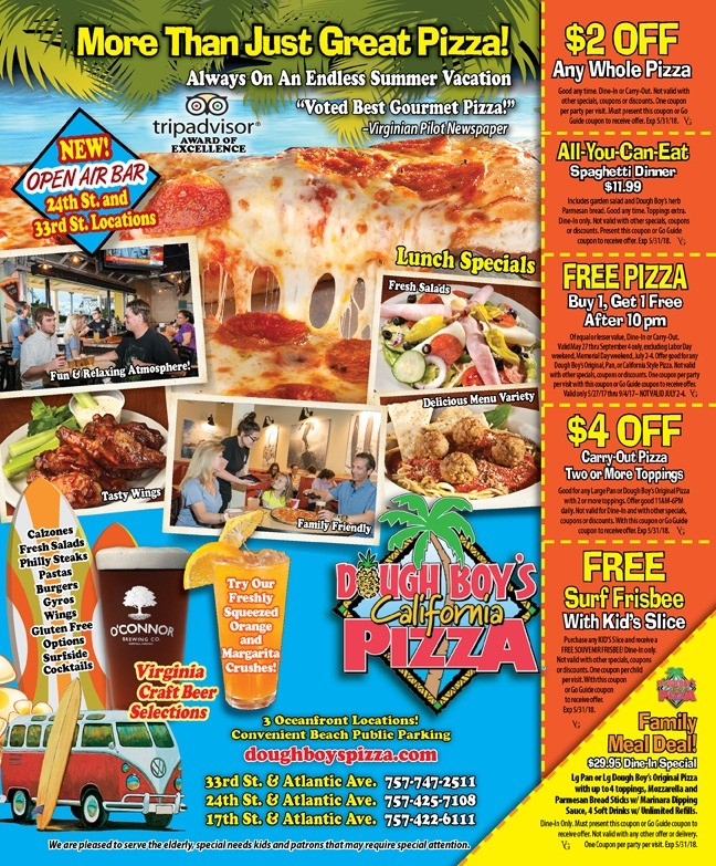 oceanfront pizza coupons