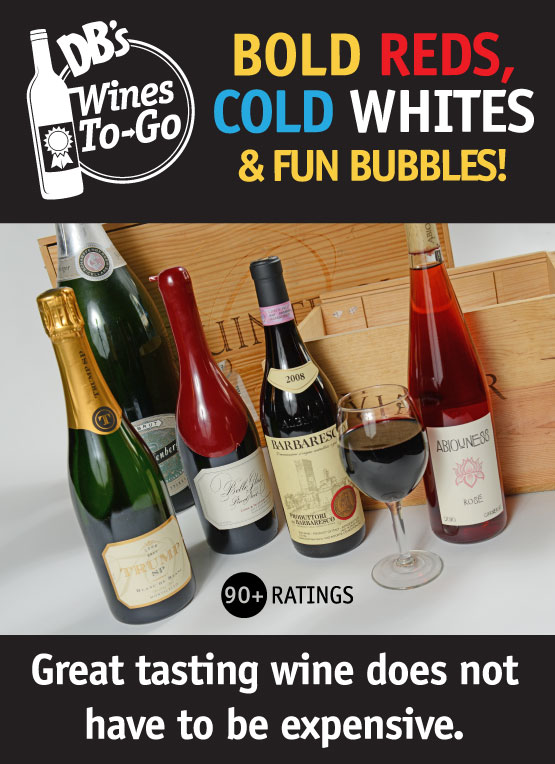 Wines to Go courtesy of Wine store also at Dough Boy's Pizza Virginia Beach Oceanfront