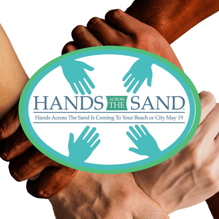 hands across the sand Dough Boy's Pizza Virginia Beach Oceanfront