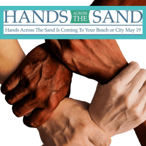 virginia beach time hands across the sand