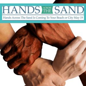 virginia beach time hands across the sand