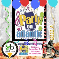 Party On Atlantic Avenue Dough Boy's Pizza Virginia Beach Oceanfront