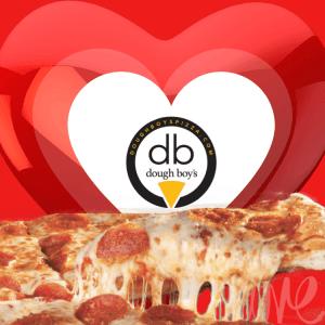 oceanfront valentines day specials Dough Boy's Pizza Virginia Beach Oceanfront