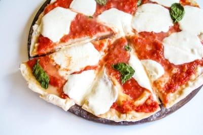Authentic Margherita Pizza Crust Dough Boy's Pizza Virginia Beach Oceanfront